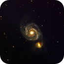 Whirlpool Galaxy,                                AstroHel