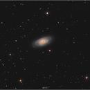 Galaxie de l'œil noir,                                Castille Pierre-Olivier