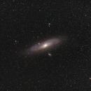 M31 Wide field,                                Martin Dufour