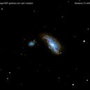 ngc4490 + ngc4485  galassie nei cani venatici                               distanza  23 milioni   A.L.,                                Carlo Colombo