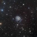 M101 - Pinwheel Galaxy,                                mr1337