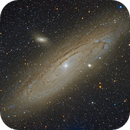 Andromeda Galaxy M31,                                Dean Fournier