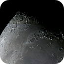 Moon Composite of the region North Pole / Mare Imbrium,                                Koen Dierckens