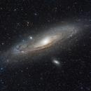 M31 Andromeda Galaxy HaLRGB,                                Ross Beckman