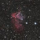 NGC 7380 - The Wizard Nebula,                                Kharan