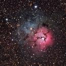 Trifid Nebula M20,                                AstroEdy