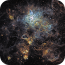 Tarantula Nebula in SHO at 780mm FL,                                robonrome