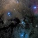 Xenomorph Nebula - Rho Ophiuchi complex,                                andrealuna