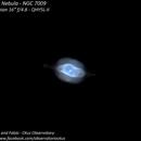 NGC 7009 - Saturn Planetary Nebula,                                Fábio