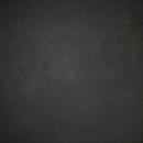 Constellations du Cygne et du Petit Renard, avec un spot bleu, M27,                                Noël Donnard