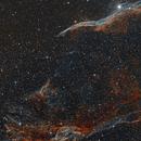 The veil ngc 6960,                                Astrorin