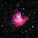 Nébuleuse Pacman : NGC281,                                Jgl2206