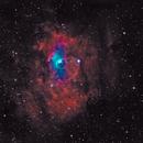Bubble Nebula,                                Lewis Garrett