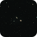 M 105, NGC 3384, NGC 3389: three of a perfect pair,                                K. Schneider