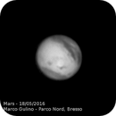 Mars, first 2016 shot,                                Marco Gulino