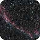 Eastern Veil Nebula,                                Garrett Hubing