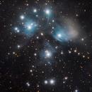 Pleyades - Messier 45 LRGB,                                Bror Federico Ced...
