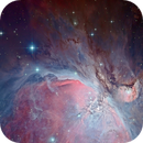 Inside the great Orion nebula M42,                                Arnaud Peel