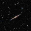 Needle Galaxy- NGC 4565,                                Warren A. Keller