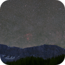 Question Mark Nebula over Veitsch Montains - My First Deepscape,                                Niko Geisriegler