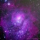 Lagoon Nebula Close Up Final,                                Chris Price