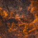 Reflexion Nebula NGC6914 in HSOrgb widefield,                    Jose Carballada