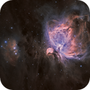M-42 The Great Orion Nebula:  A View in Narrow Band Mapped in False LRGB Pallete ,                                Fernando