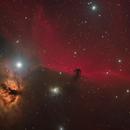 Horsehead and Flame Nebula with NGC2023 and IC434,                                Dave Boddington