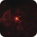 NGC 3247 (Whirling Dervish Nebula) [NB],                                Dean Carr