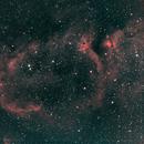 IC 1848 Soul Nebula-Ha-HOO-Meade 80 ED triplet-Orion flattener-ASI 1600 MM-Pro,                    Adel Kildeev