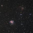 Fireworks galaxy NGC 6946 / Open cluster NGC 6939,                                  sky-watcher (johny)
