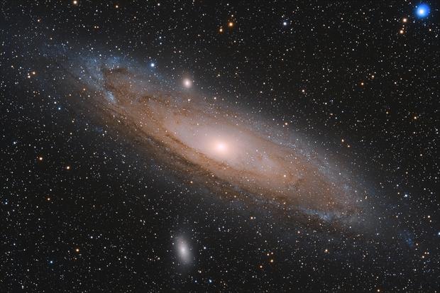 [Gal] M31 (Galaxie d'Andromède) @Calern,                                Raypulsif