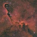 IC1396 - mixture of SHO/HSO and HOS; RGB stars from Explore Scientific,                                Uwe Deutermann