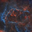 Vela Supernova Remnant SHO,                                Tom Peter AKA Astrovetteman