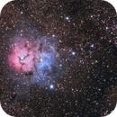 M20 Trifid Nebula in Sagittarius,                                Jocelyn Podmilsak