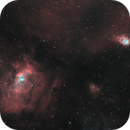 Bubble Nebula HOO,                                Wembley2000
