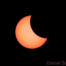 Eclipse solar parcial,                                Daniel Schek