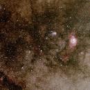 150x Time-lapse of Meteor Debris Dissipation,                                Jim Lindelien