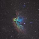 """""""the Wizard Nebula"""" Ngc 7380 """"la nébuleuse du Sorcier"""",                                Camille COLOMB"""