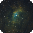 NGC 7635, The Bubble Nebula in (Ha)SHO,                                Madratter