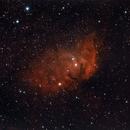 SH2-101 - Tulip Nebula,                                Bob Stewart