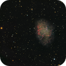 M1 Nebula, a LRGB picture with SII, Ha & OIII data included,                                  Niels V. Christensen