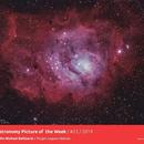 "ZWO ""Image of the Week"" #25,                                John Michael Bellisario"