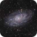 M33 Galaxie du Triangle FSQ106,                                Jean-Christophe P...
