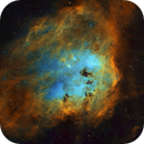 IC410 in Hubble Palette,                                Bart Delsaert