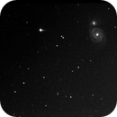 M51 in remoto con il MicroObservatory,                                Spock