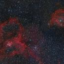 IC1805/IC1848 - Heart and Soul Nebulae,                                Andrew Genualdi