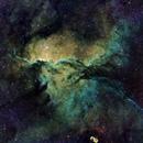 NGC 6188  Nébuleuse en OHS,                                Roger Bertuli