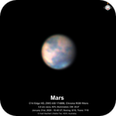 Mars - a first image of the 2020 apparition,                                Niall MacNeill
