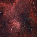 Heart Nebula in RGB,                                David McClain